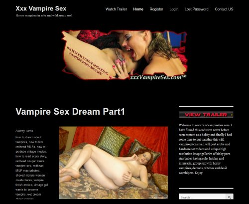 Intelligible answer xxx vampire sex variant possible