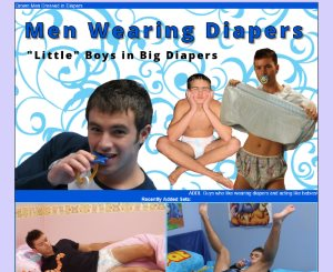 Men Wearing Diapers