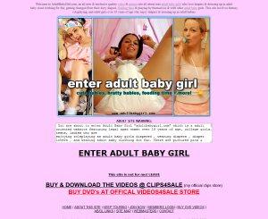 Adult Baby Girl